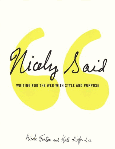 Cover of Nicely Said
